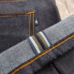11oz Deep Yellow Indigo