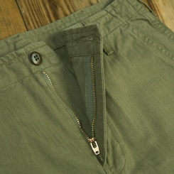 1966 Jungle Short Herringbone Twill